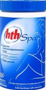HTH SPA CHLOR GRANULAT 1,2 kg chlor do jacuzzi